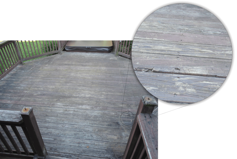 ARE YOU THINKING OF REPLACING YOUR OLD DECK?